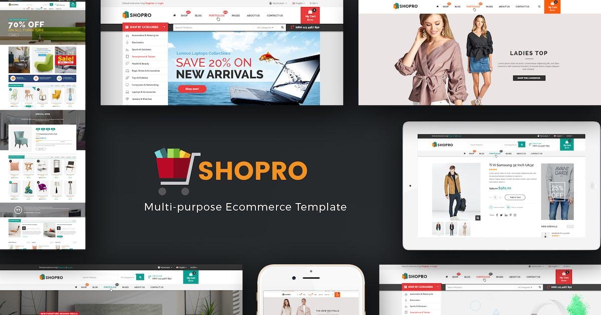Download Shopro - Mega Store Responsive Prestashop Theme by Plaza-Themes