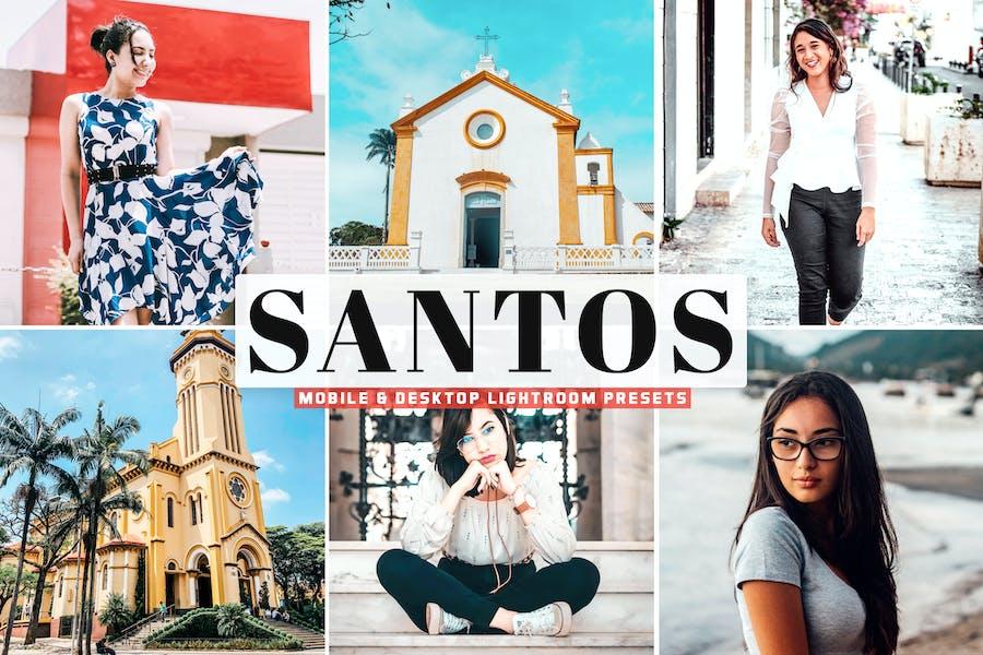 Santos Mobile & Desktop Lightroom Presets