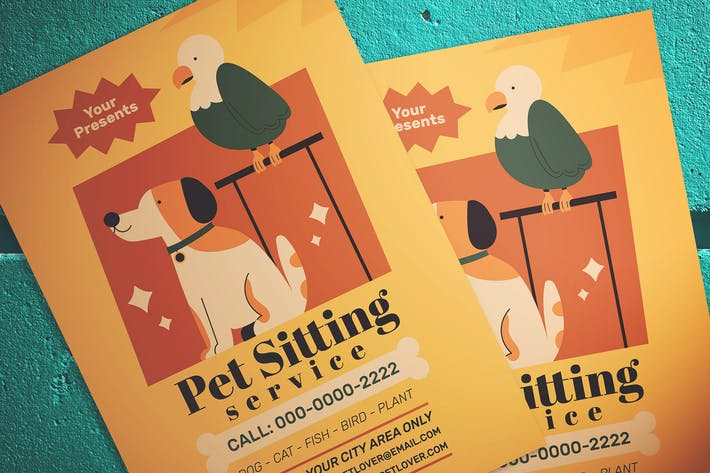 Thumbnail for Pet Sitting Flyer