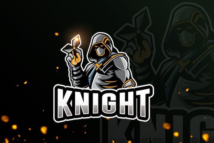 Thumbnail for Knight Team Mascot & eSports Gaming Logo