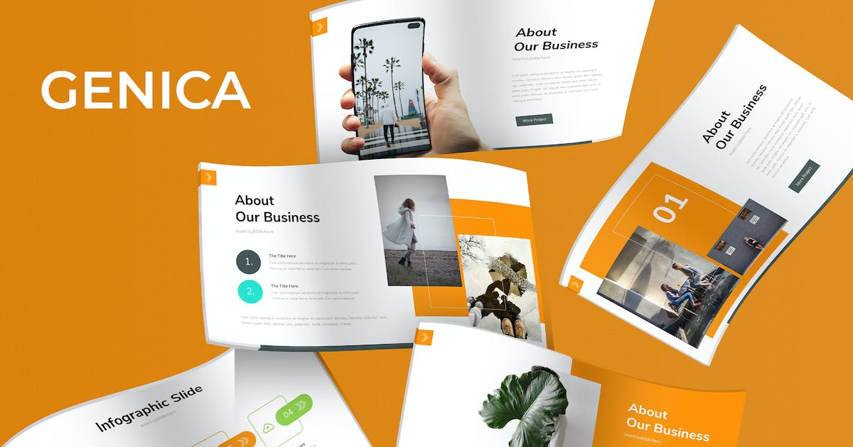 Download Genica - Keynote Template by aqrstudio