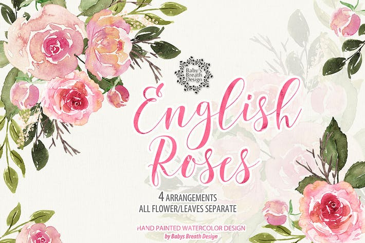 Thumbnail for English Roses design