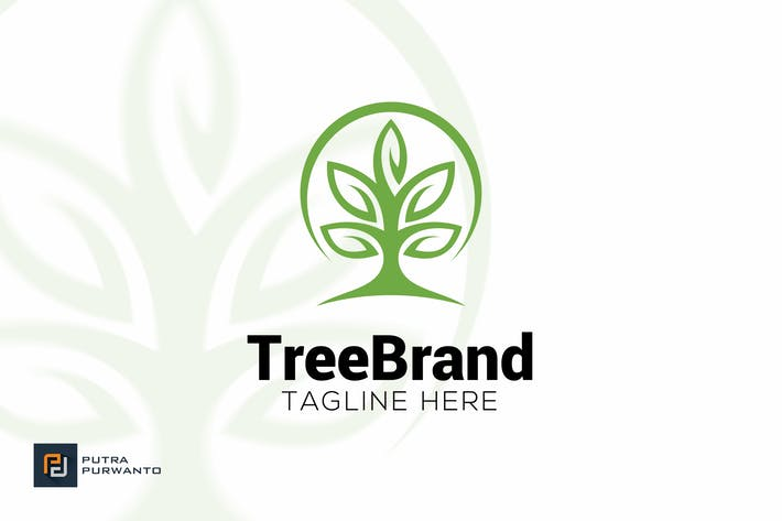 Thumbnail for Tree Brand - Logo Template
