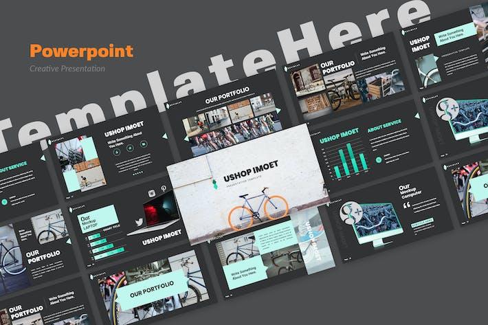 Thumbnail for Ushop Imouet Creative Powerpoint