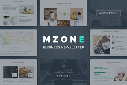 Mzone Responsive Email Template for Business