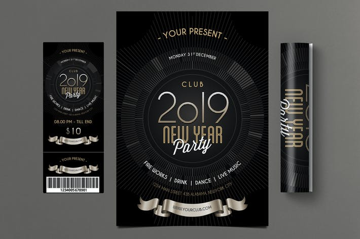 Thumbnail for New Year Party 2019