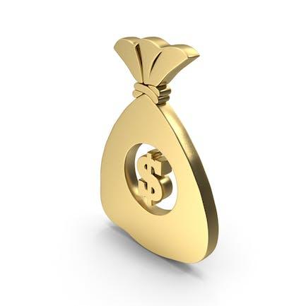 Dollar Money Bag logo symbol icon