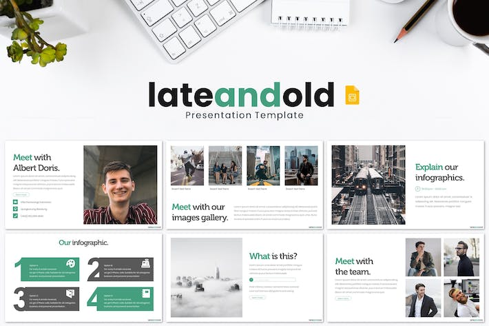 Late and Old - Google Slides Template