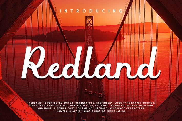 Redland - Police de script gras