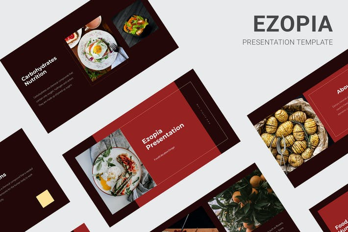 Thumbnail for Ezopia - Education About Food Keynote