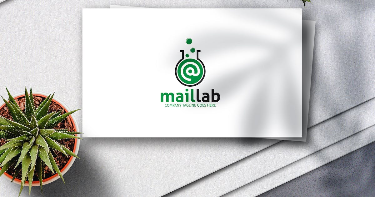 Download Mail Lab Logo by Voltury