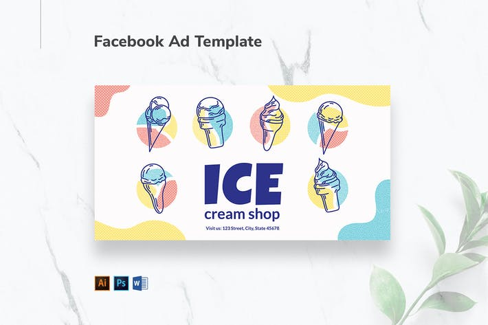 Thumbnail for Ice Cream Shop Facebook Ad