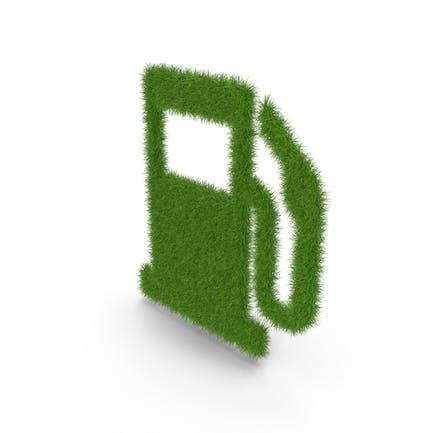 Grass-Tankstelle-symbol
