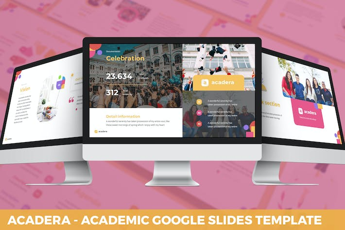 Thumbnail for Acadera - Academic Google Slides Template