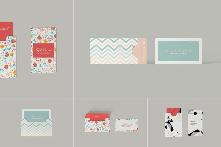 Thumbnail for Multipurpose Holder and Card Mockups