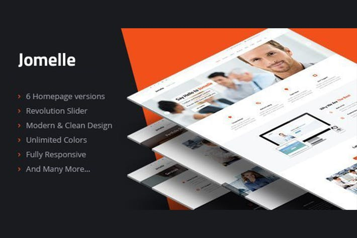Thumbnail for Jomelle - Multipurpose Business HTML Template
