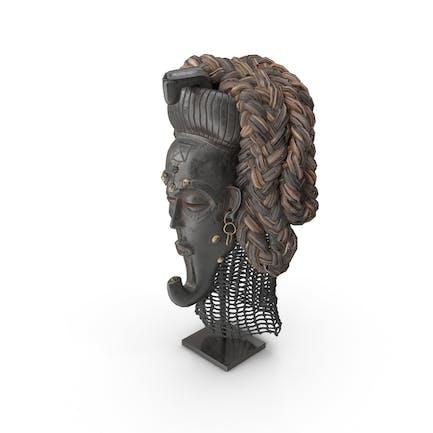 Kongo König Maske