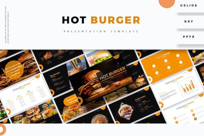 Hot Burge - Шаблон презентации