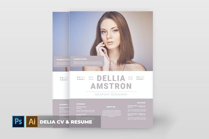 Thumbnail for Delia | CV & Resume