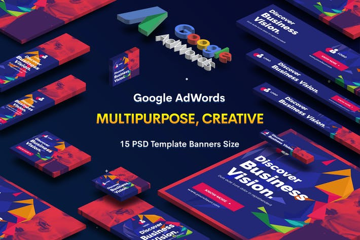 Thumbnail for Multipurpose, Business, Startup Banners Ad
