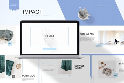 Impact -  Google Slides Template
