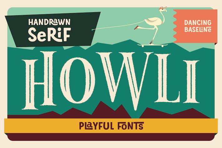 Thumbnail for Howli Serif