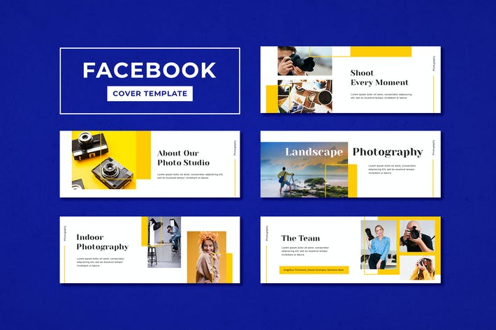 Facebook Cover Template Photography Studio