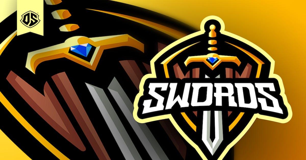Download Sword Esport Mascot Logo Template by dadangsudarno