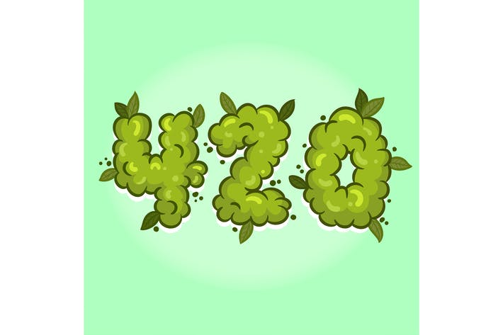 Thumbnail for 420 Weed Hand Lettering