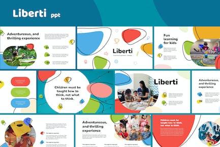 Liberti - Preschool Template Powerpoint