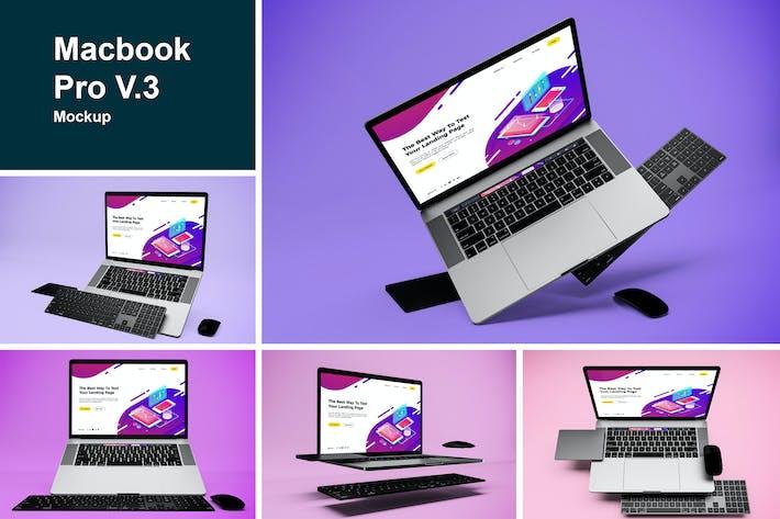 Macbook Pro Mockup V.3