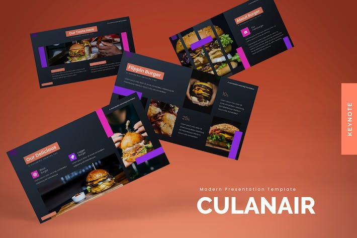Thumbnail for Culinair - Keynote Template