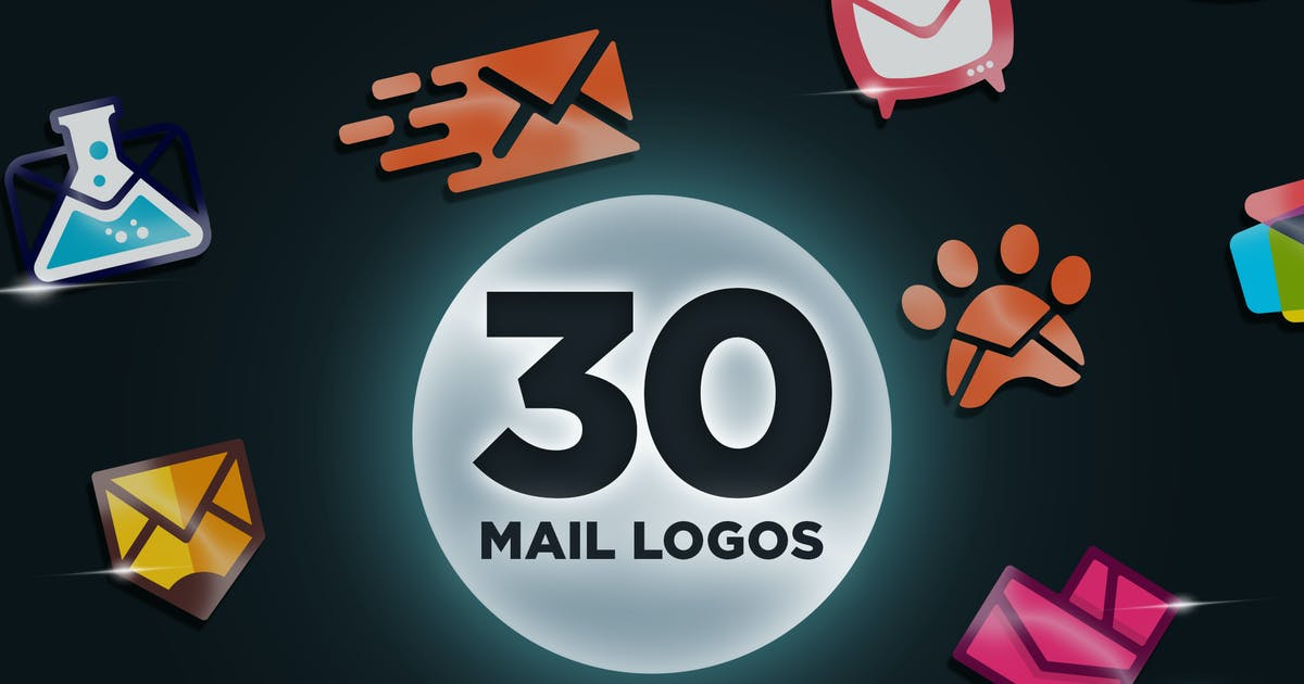 Download 30 Modern Clever Email Themed Logo by Suhandi