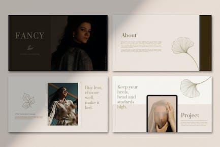 Fancy - Powerpoint Template