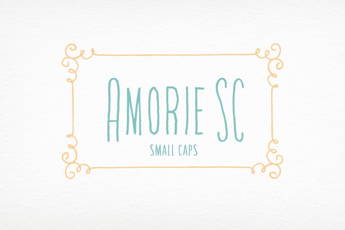 Cover Image For Amorie SC Font Family