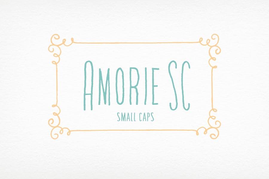 Amorie SC Font Family