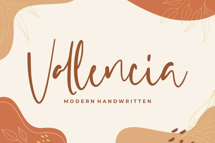 Vallencia – Modern Handwritten
