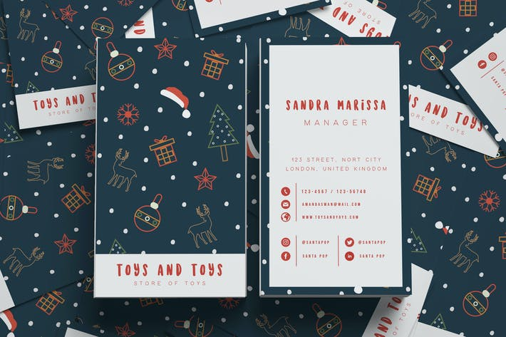 Cover Image For Toys And Toys Business Card