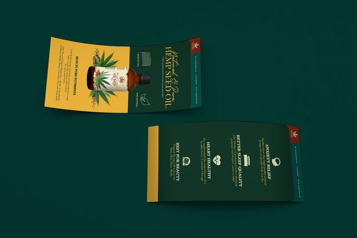 Thumbnail for Hemp Product DL Rackcard