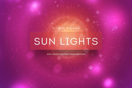 Sun Lights Abstract Background