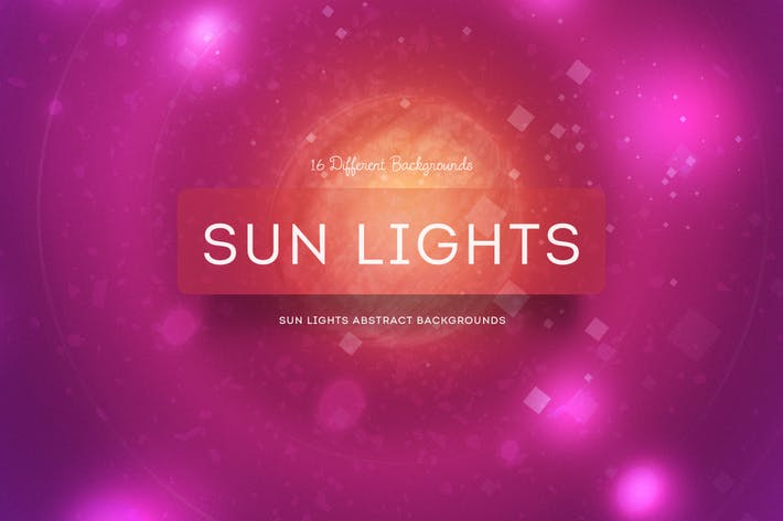 Thumbnail for Sun Lights Abstract Background
