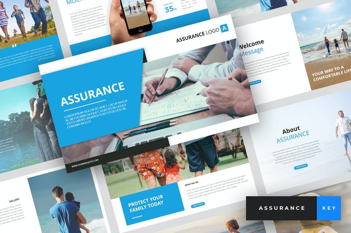 Thumbnail for Assurance - Insurance Keynote Template