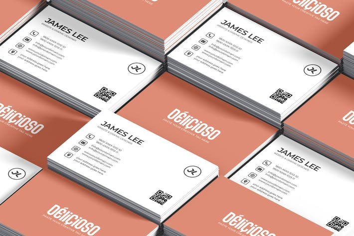 Cover Image For Minimal Creative Business Card Template