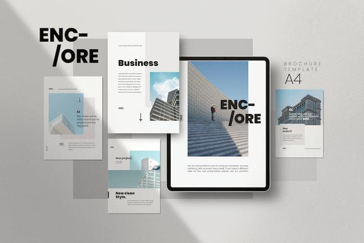 Thumbnail for Encore Business Profile Company Brochure