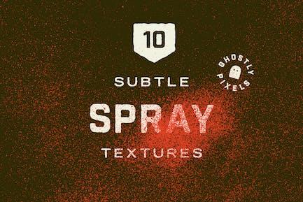 Subtile Sprühfarben-Texturen