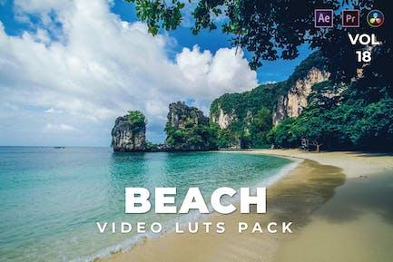Beach Pack Video LUTs Vol.18