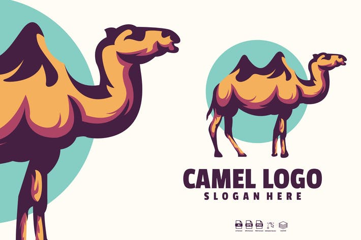 Thumbnail for Camel Logo Template