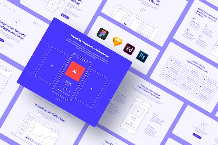 Thumbnail for Method Wireframe Kit 2.3