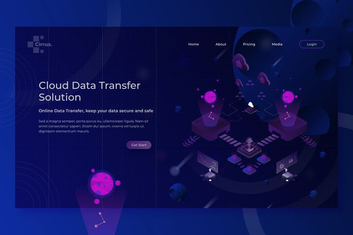 Thumbnail for Coud Data Transfer