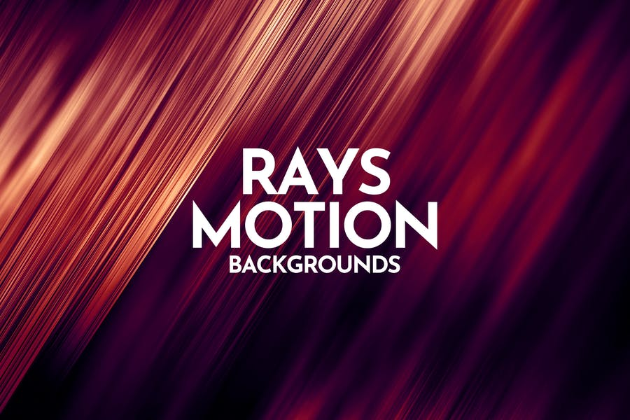 Rays Motion Backgrounds